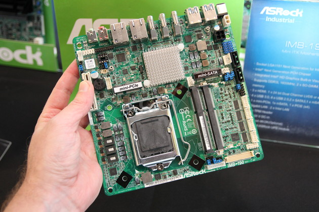 Skylake-Mini-ITX-Mainboard von ASRock