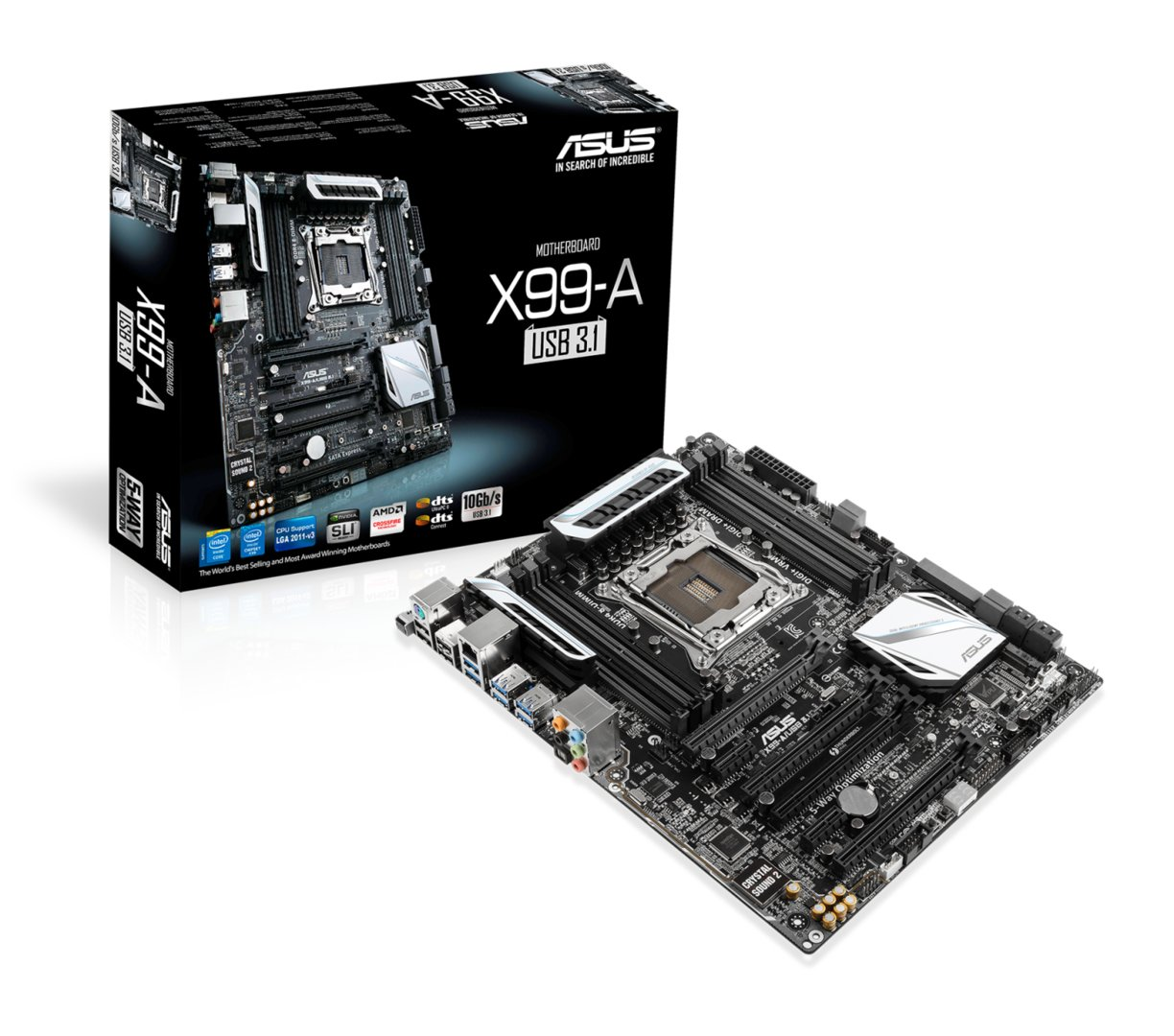 Asus X99-A mit USB 3.1 Onboard