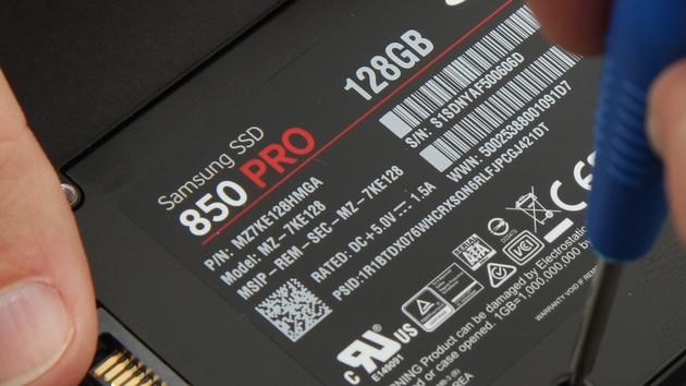 SSD 850 Pro: Fehlerhafte Firmware EXM02B6Q verhindert Booten