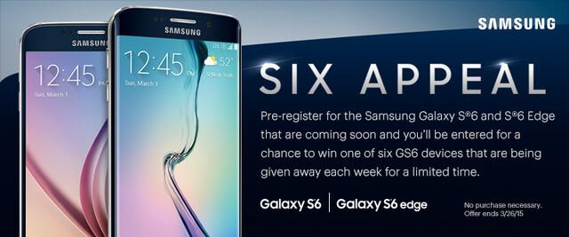 Angebote für Samsung Galaxy S6 und S6 Edge