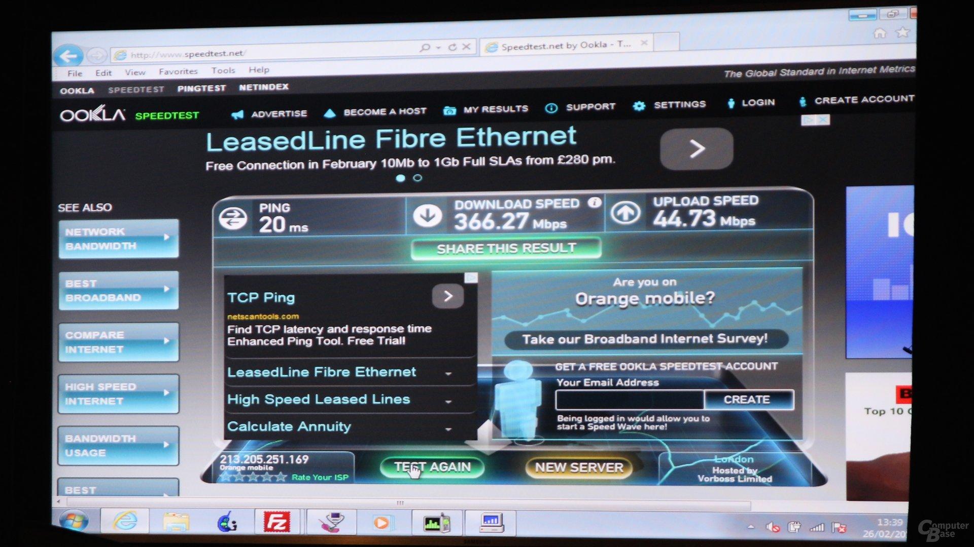 Downloadraten über LTE Cat. 9 mit dem Snapdragon 810