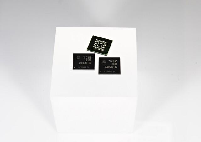 UFS-2.0-Speicherchip von Samsung