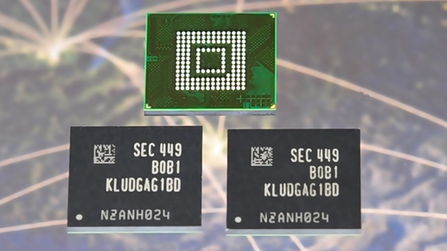 Flash-Speicher: 128 GB große Chips nach UFS 2.0 gehen in Serie