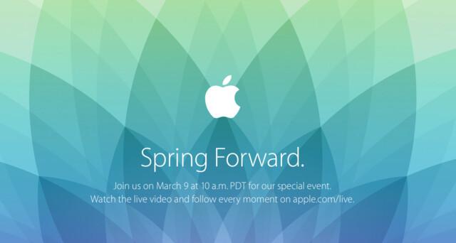 Apple lädt zum 9. März ein