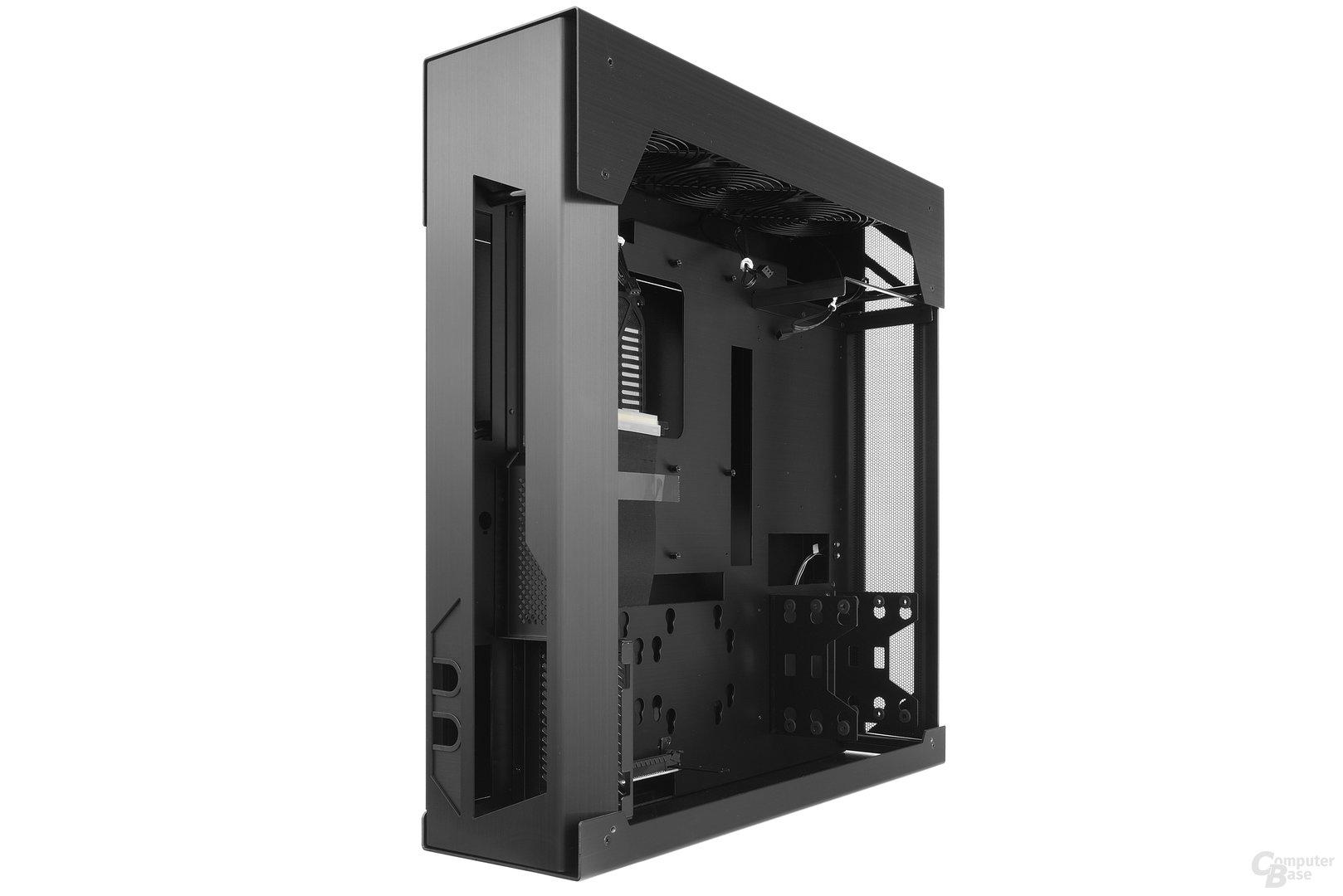 Lian Li PC-O6S – Seitliche Innenraumansicht