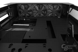 Lian Li PC-O6S – Drei vorinstallierte 120-mm-Toplüfter