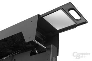 Lian Li PC-O6S – Deckelstaubfilter entnehmen