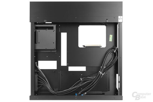 Lian Li PC-O6S – Rückseite Innenraumansicht