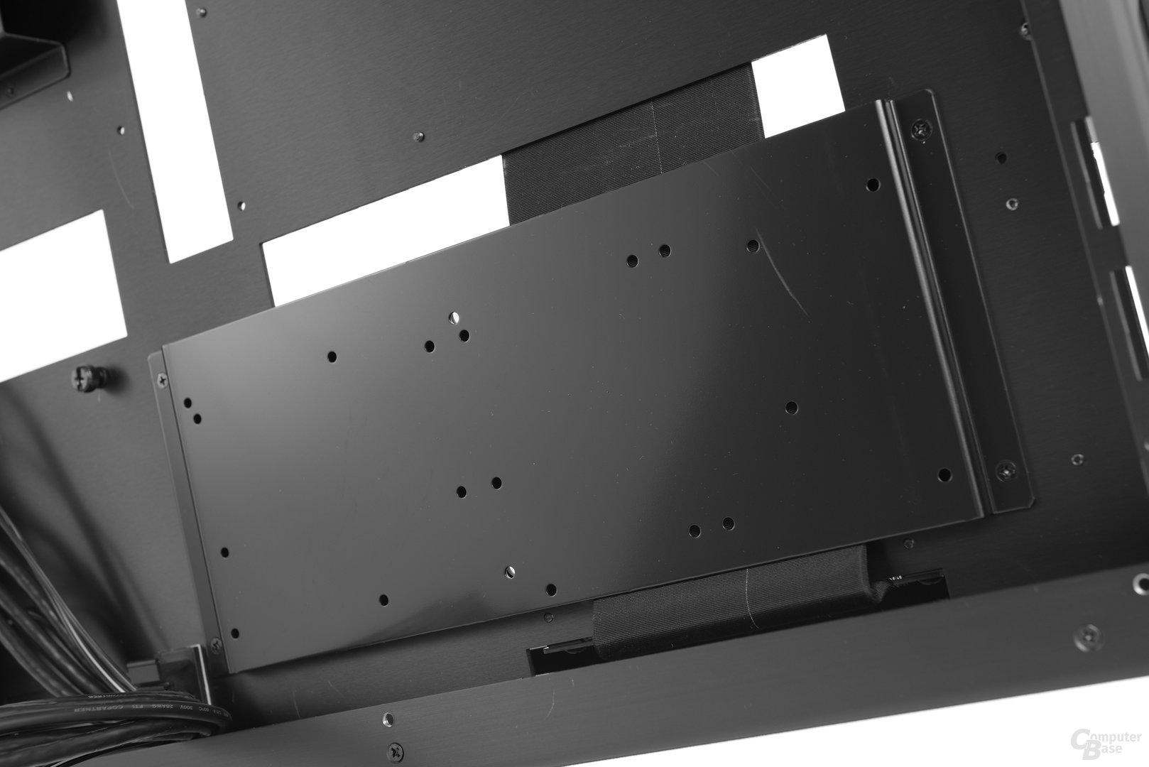 Lian Li PC-O6S – Festplattenbracket an der Rückseite