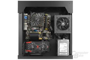 Lian Li PC-O6S – Testsystem