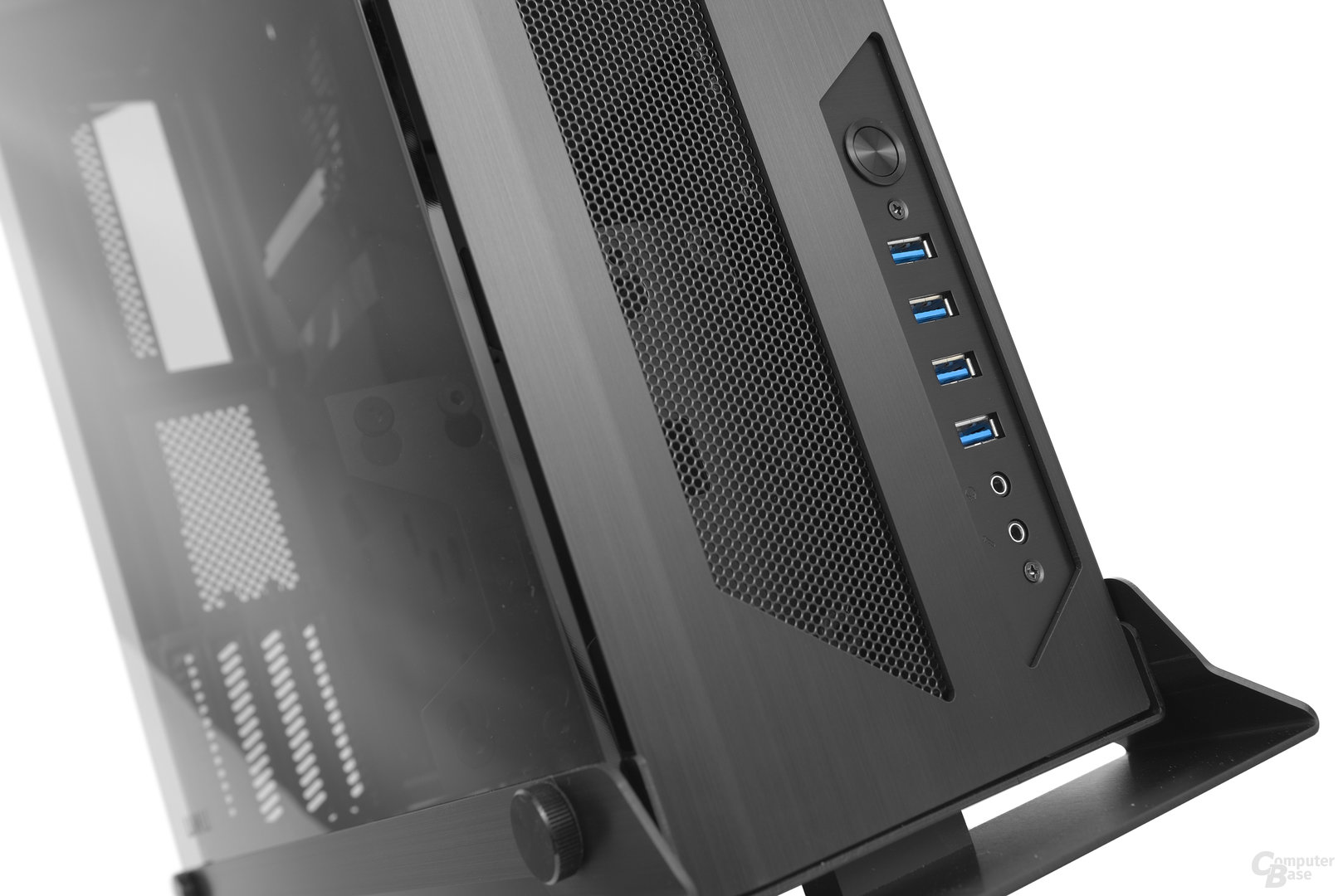 Lian Li PC-O6S – Frontpanel
