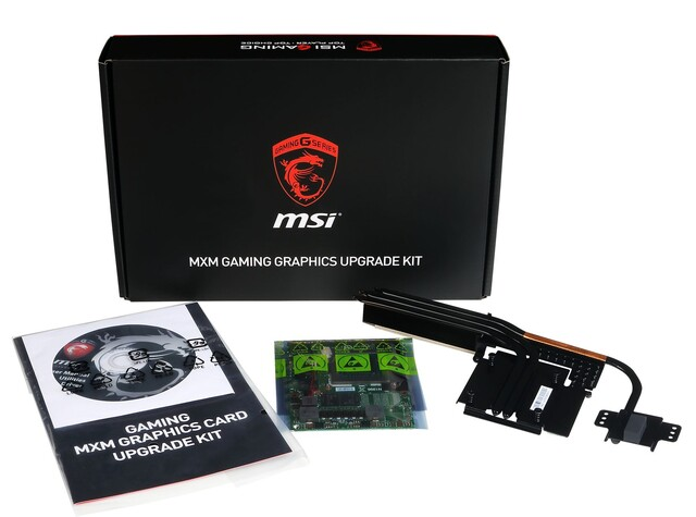 MSI GT72 MXM-Upgrade-Kit