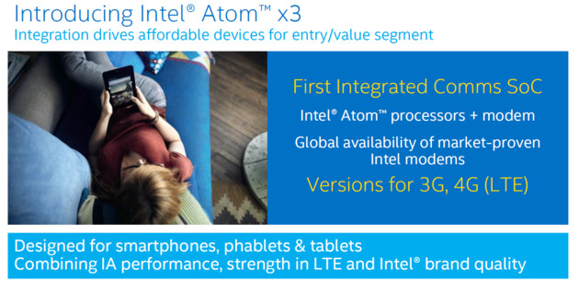 Intel SoFIA alias Atom x3