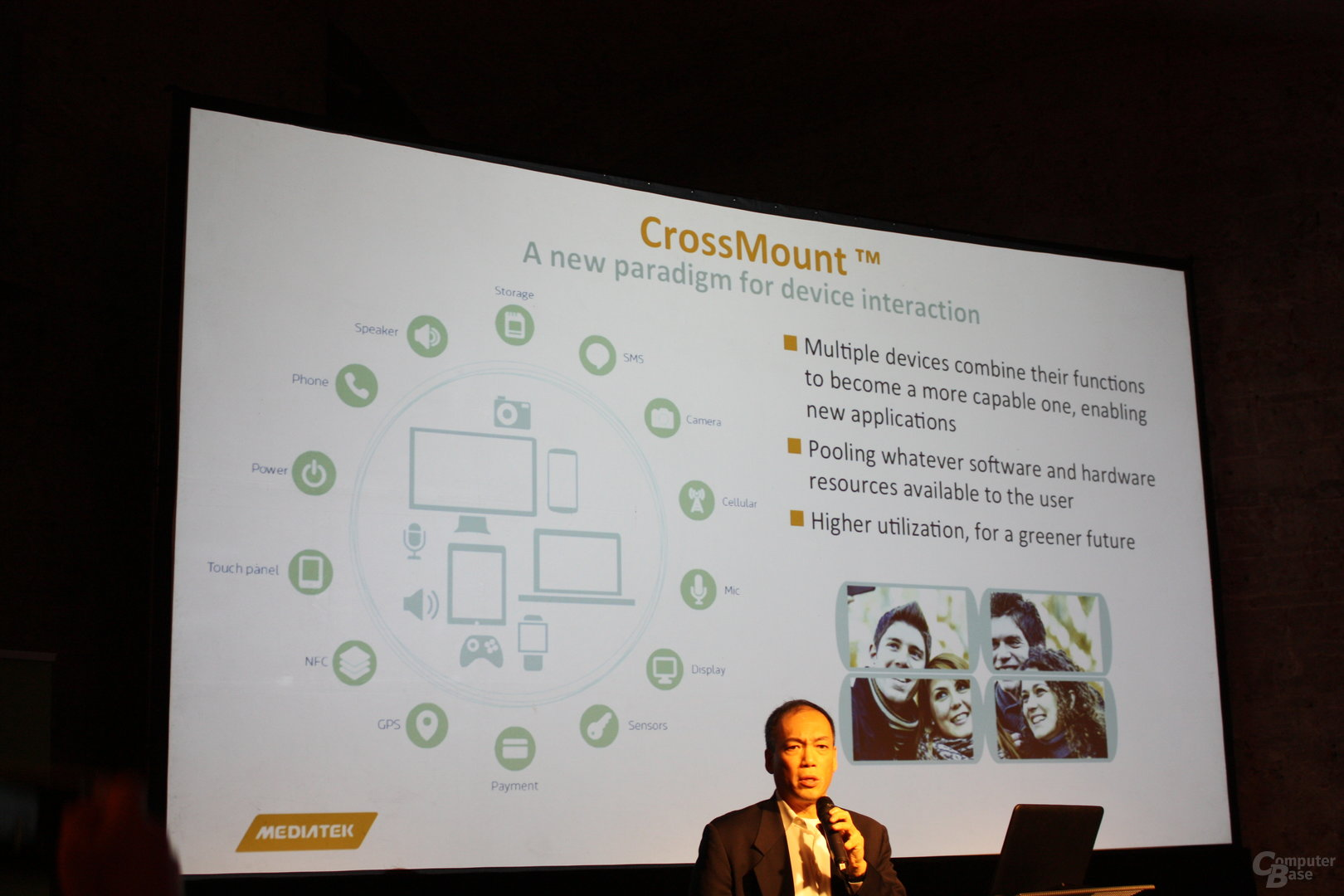 Präsentation von MediaTek CrossMount
