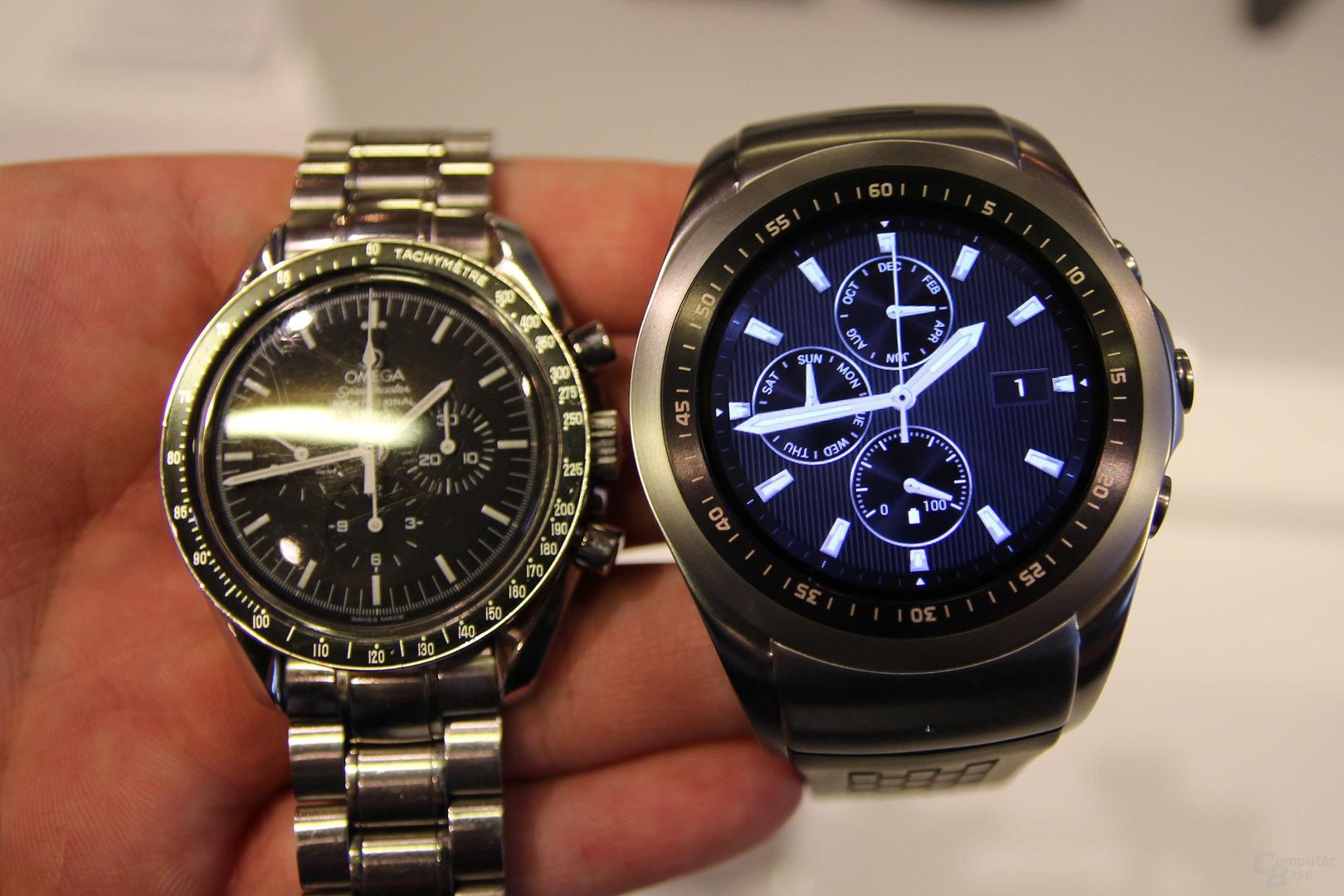 LTE-Smartwatch: LG kann webOS-Uhren auch ohne Audi bauen ...