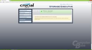 Sanitize Drive (Secure Erase) nicht möglich da TCG aktiv