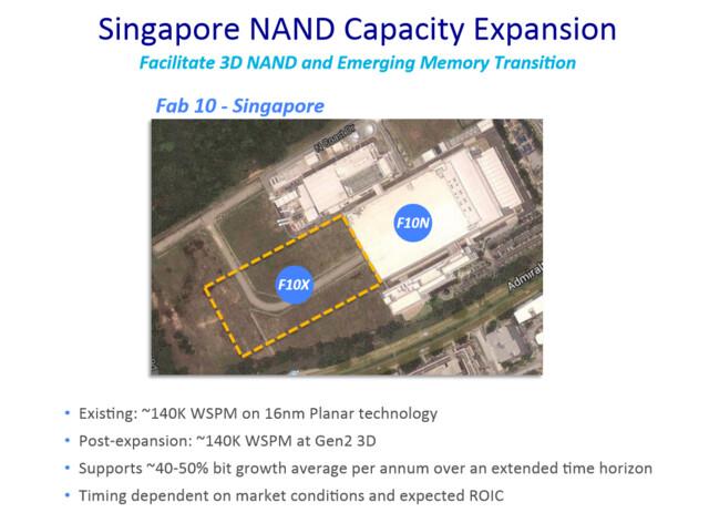 Ausbau der Singapur-NAND-Fabrik