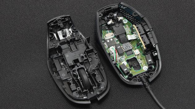 Logitech G302 im Test: Spielemaus mit Omron-Tastern und Federklicks