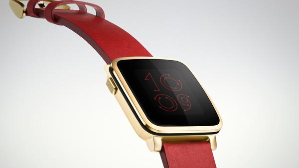 Pebble Time Steel: Edelstahl-Smartwatch mit zehn Tagen Laufzeit