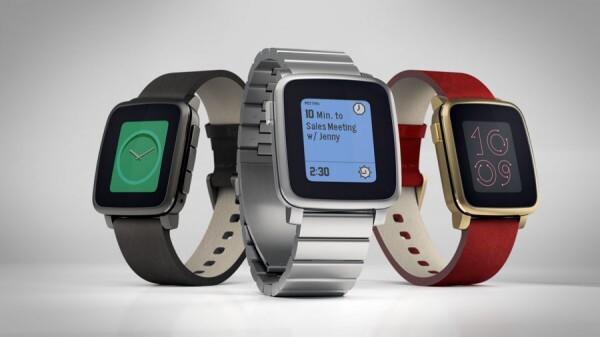 Pebble Time Steel – Ausführungen