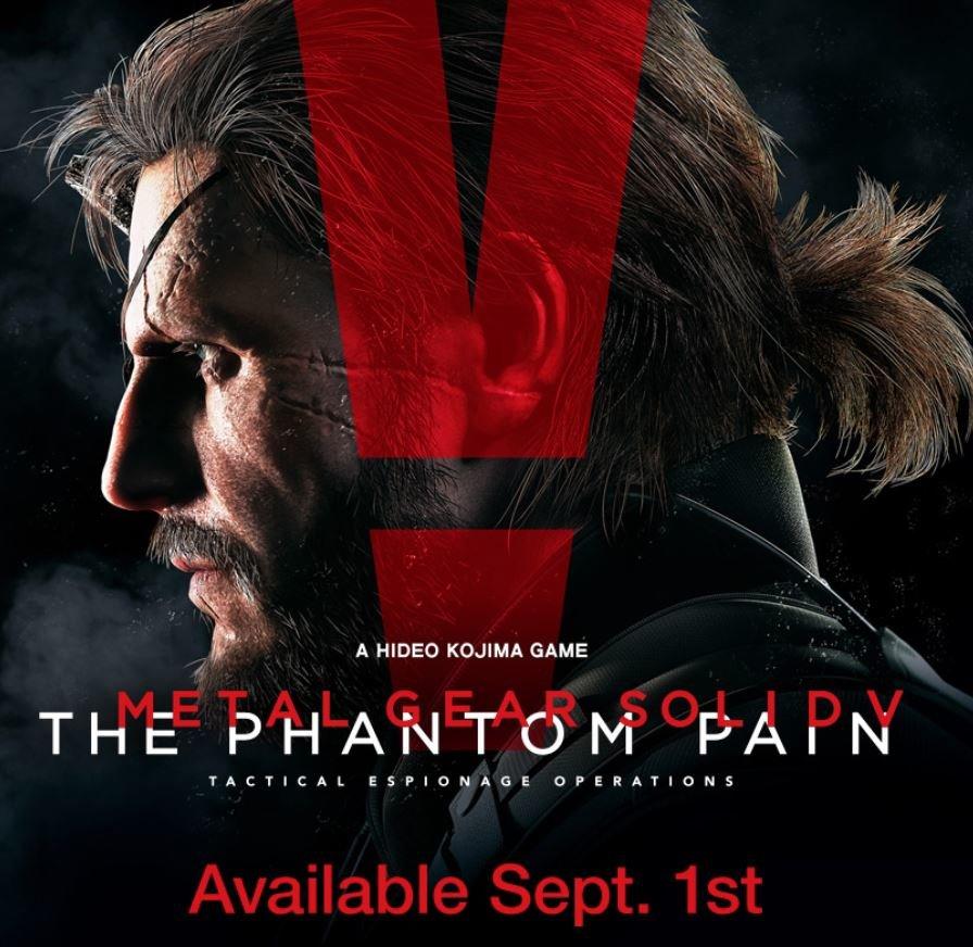 The Phantom Pain erscheint am 1. September
