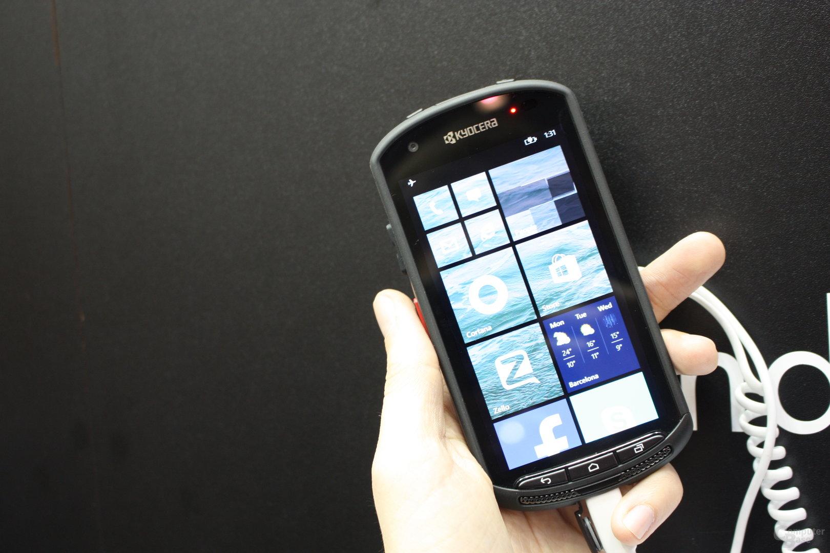 Prototyp mit Windows Phone 8.1