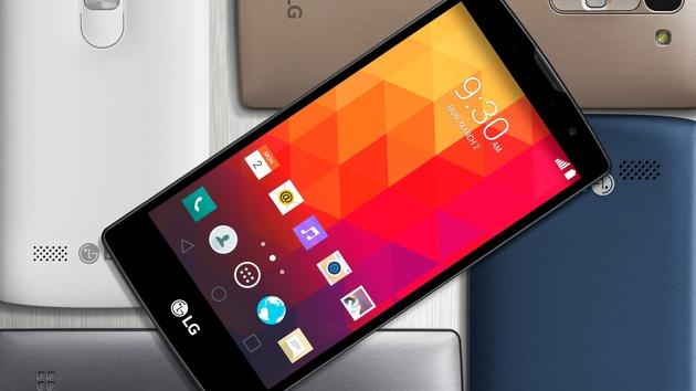 lg smartphones neue android mittelklasse kostet 100 bis. Black Bedroom Furniture Sets. Home Design Ideas