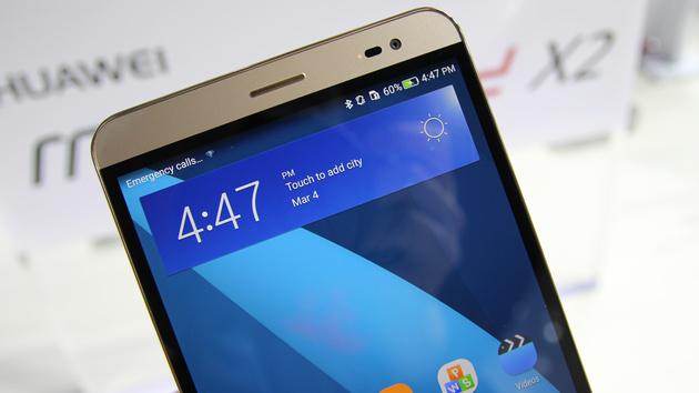 Huawei MediaPad X2: 7-Zoll-Telefon mit 16-nm-SoC und Lollipop