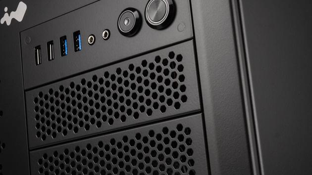 In Win 8.O.S.S.: Großer Alu-Würfel für wassergekühlte mATX-Hardware