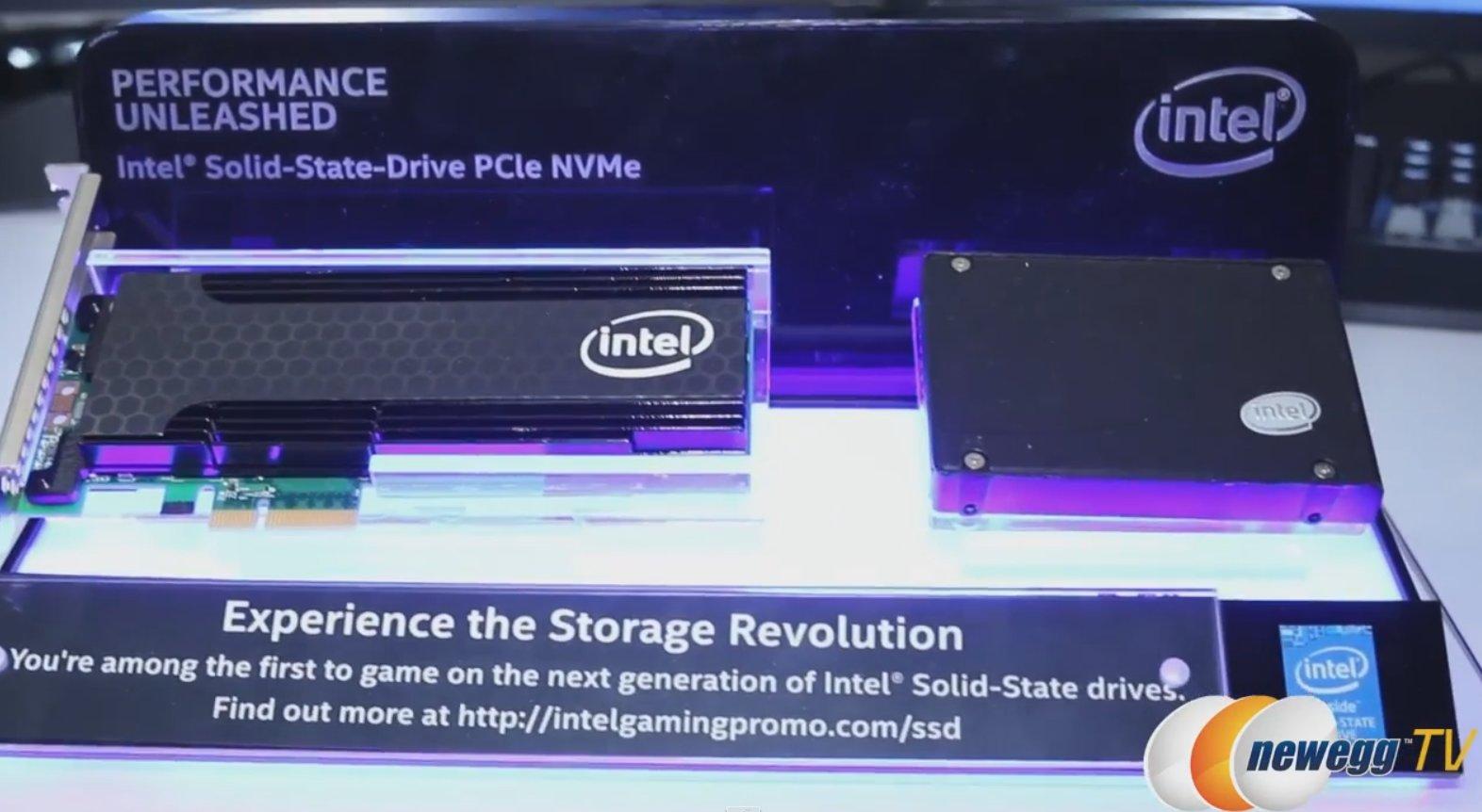 Intel-SSDs mit PCIe und NVMe für Konsumenten