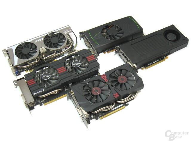 Nvidia GeForce GTX 460 bis 960 – Übersicht