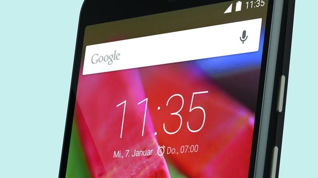 Moto G 4G LTE (2015): Kein Dual-SIM aber größerer Akku