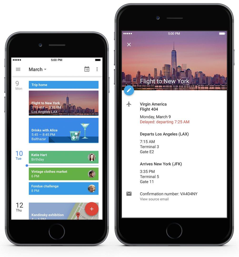 Google Kalender für das iPhone