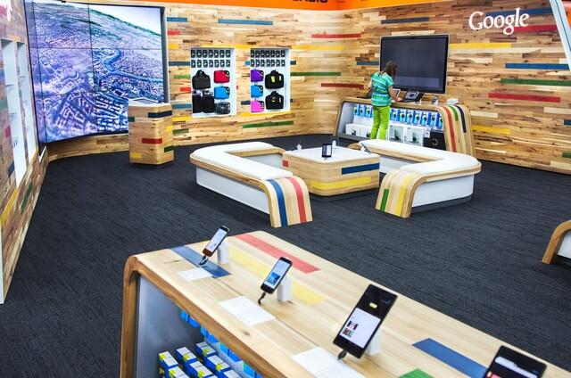 Google Shop-in-Shop in Hamburg
