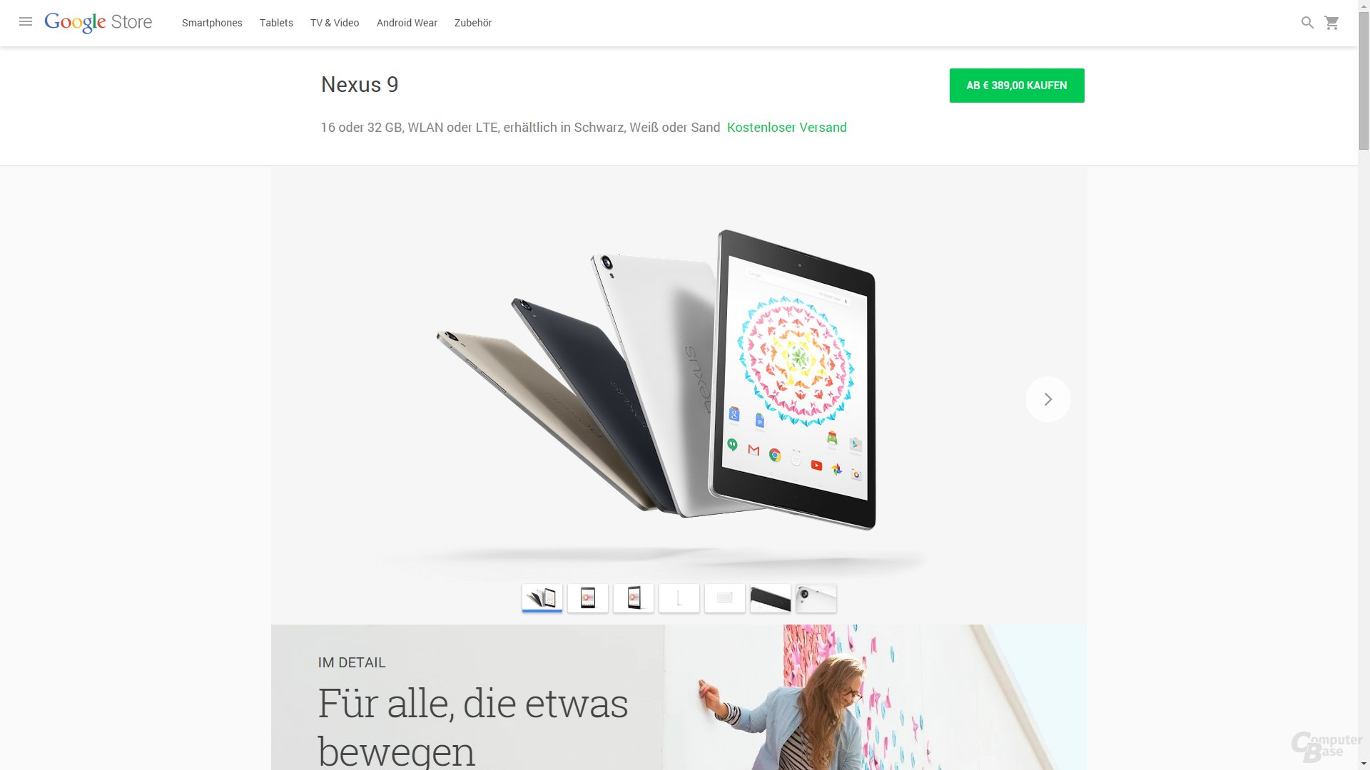 Google Store – Tablets