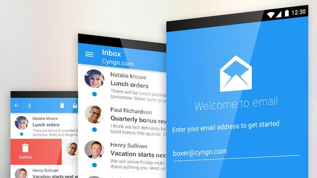 Cyanogen OS 12: E-Mail-App Boxer ersetzt Standard-App