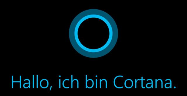 Microsoft Cortana spricht seit Dezember 2014 auch Deutsch