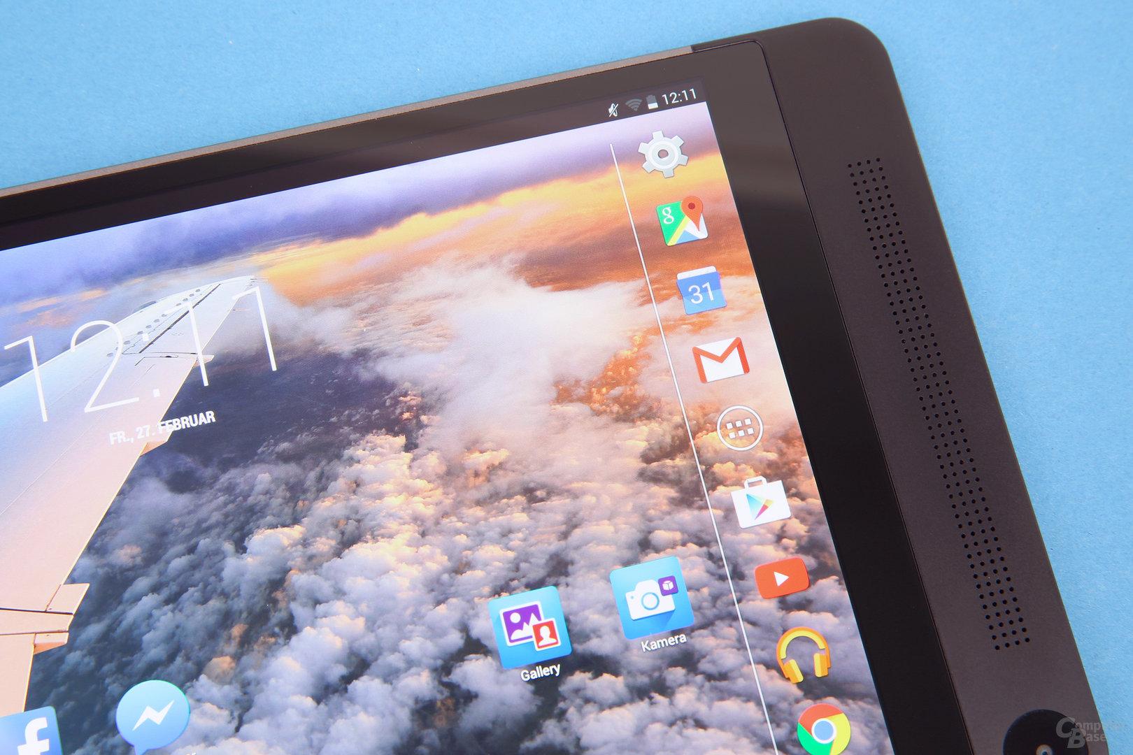 Dell Venue 8 – Super-AMOLED-Displays
