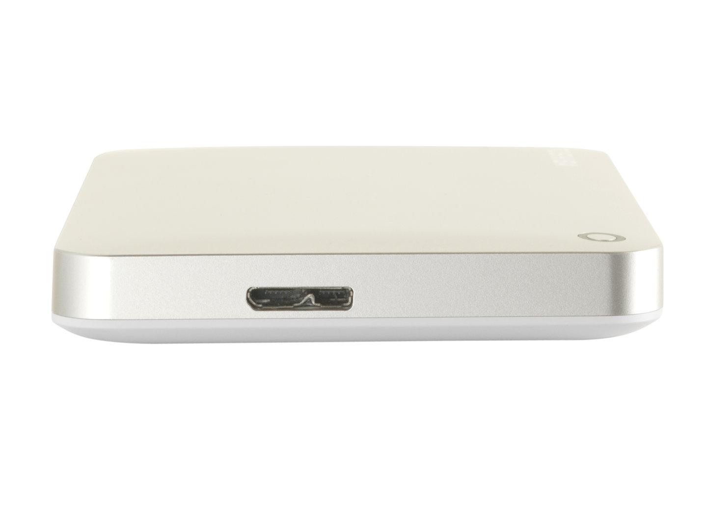 USB-3.0-Anschluss der Canvio Connect II