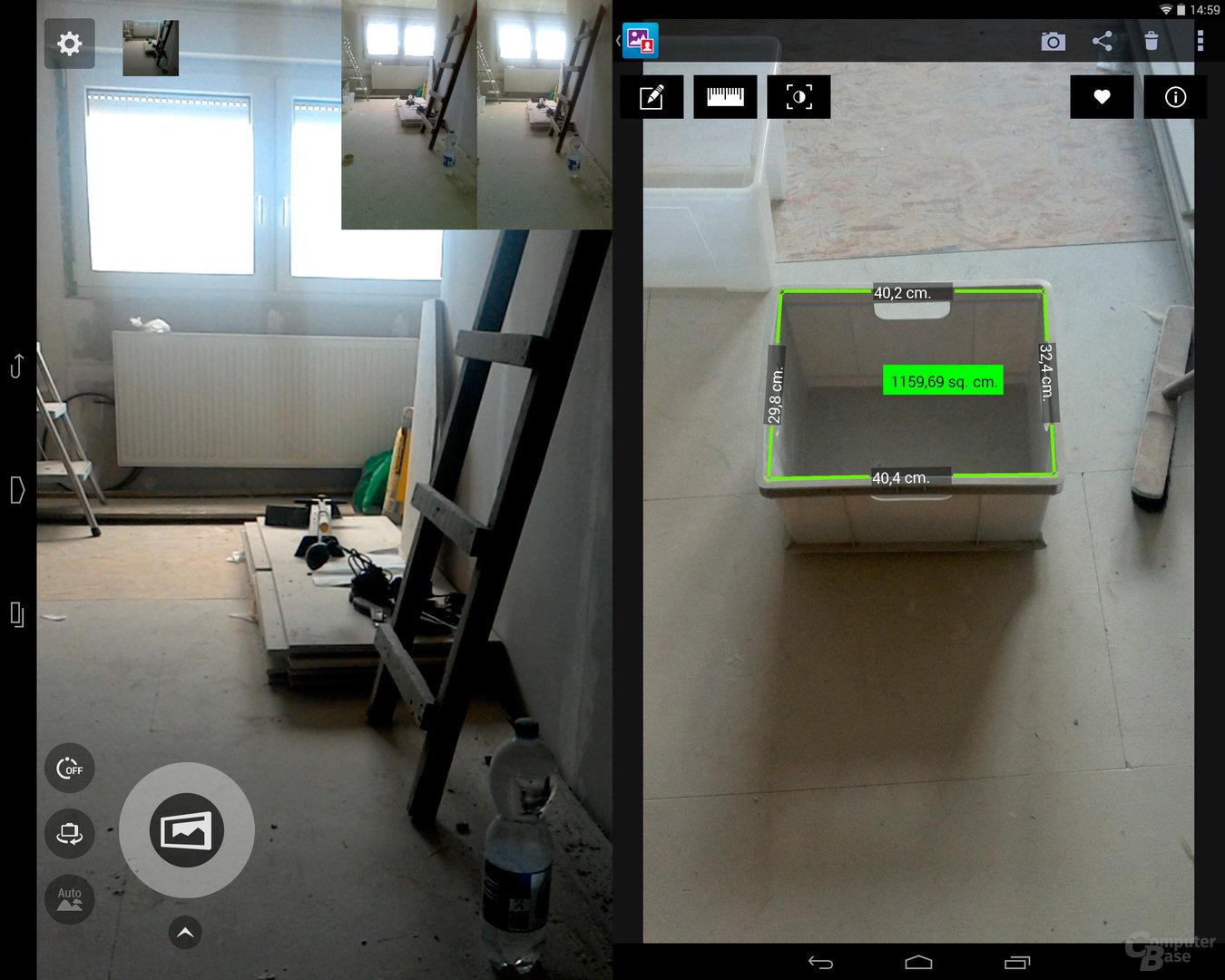 Intel-RealSense – Übersicht und Vermessung kleine Box