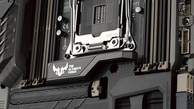 Asus Sabertooth X99: 400-Euro-Mainboard mit Rüstung, USB 3.1 und App