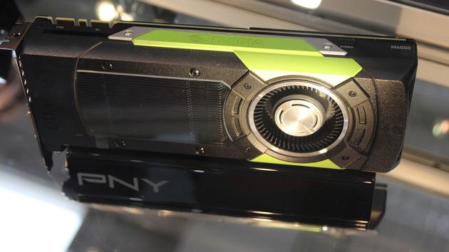 Nvidia: Die Quadro M6000 hat zu wenig Speicher
