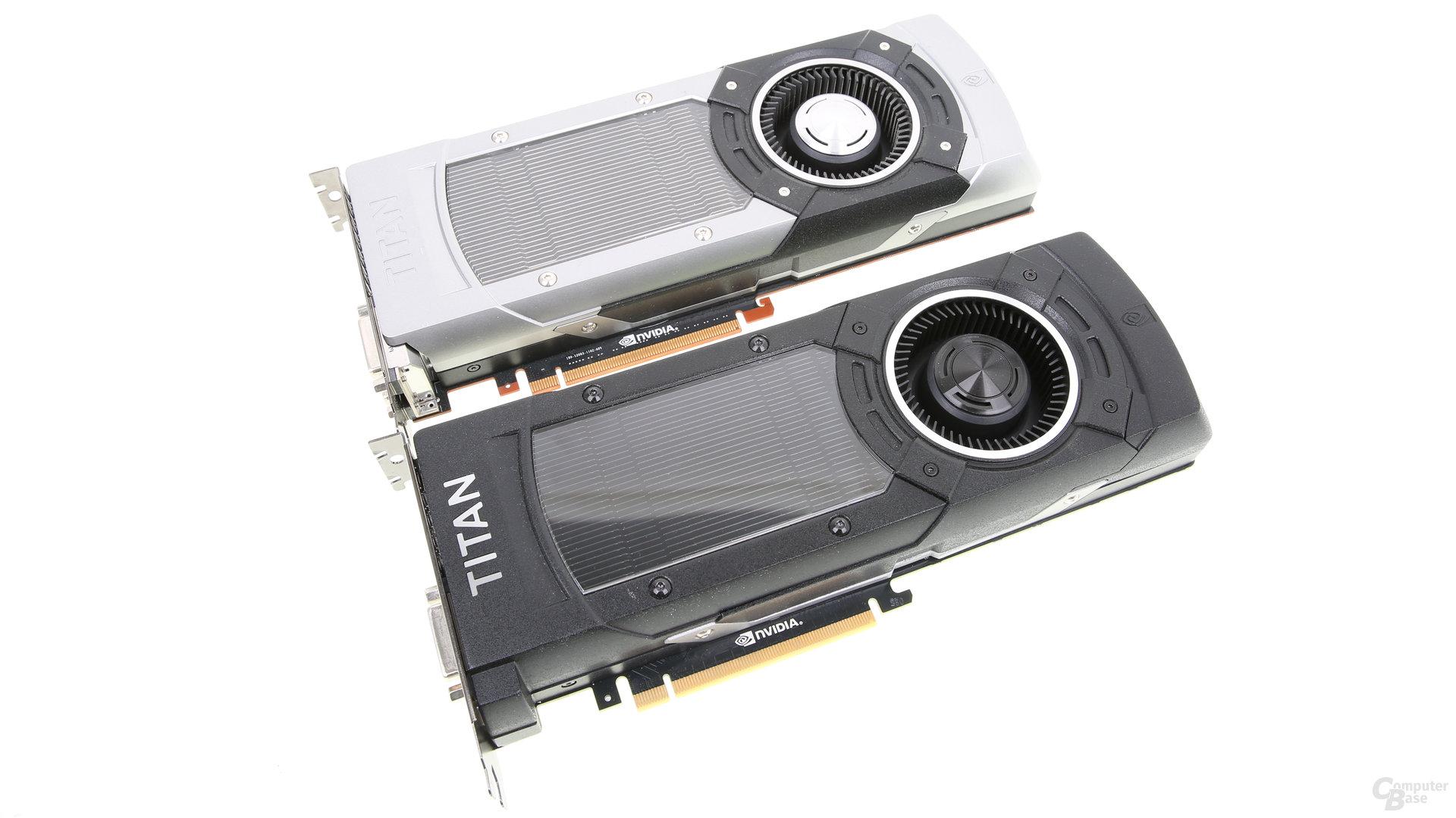 Nvidia GeForce GTX Titan X und GeForce GTX Titan