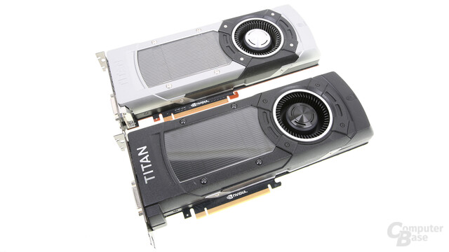 Nvidia GeForce GTX Titan X und GeForce GTX Titan