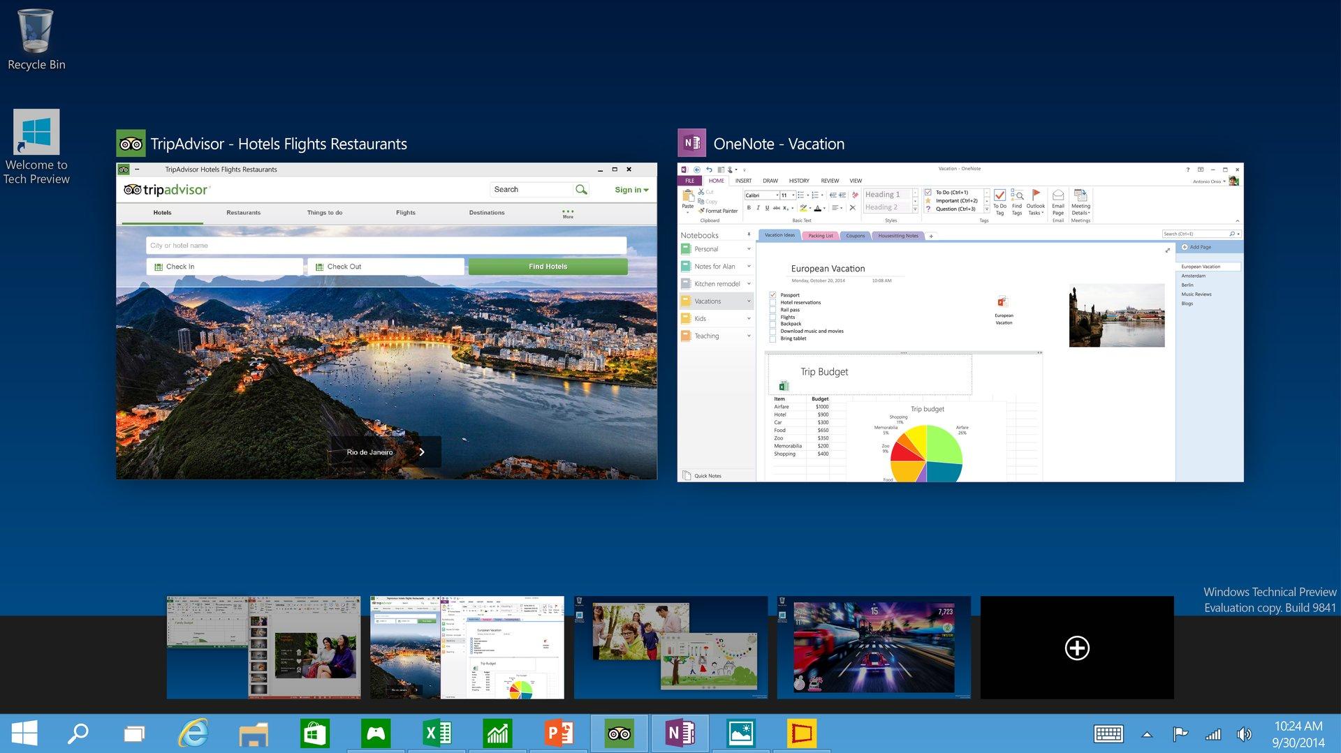 Virtuelle Desktops unter Windows 10