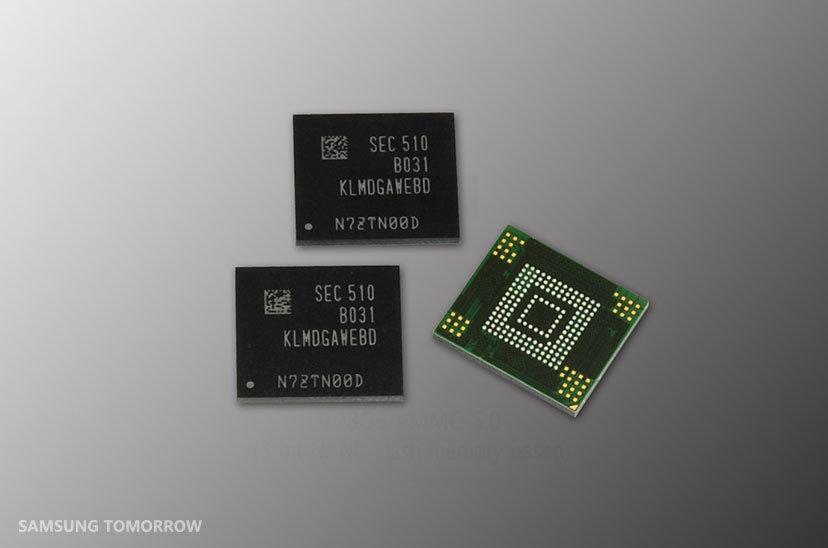 128 GB eMMC von Samsung