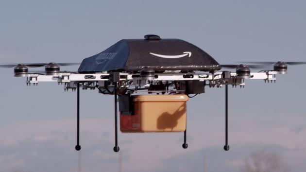 Prime Air: Amazon darf Drohnen-Lieferung testen