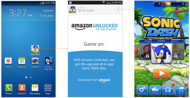 Amazon Unlocked for Apps & Games
