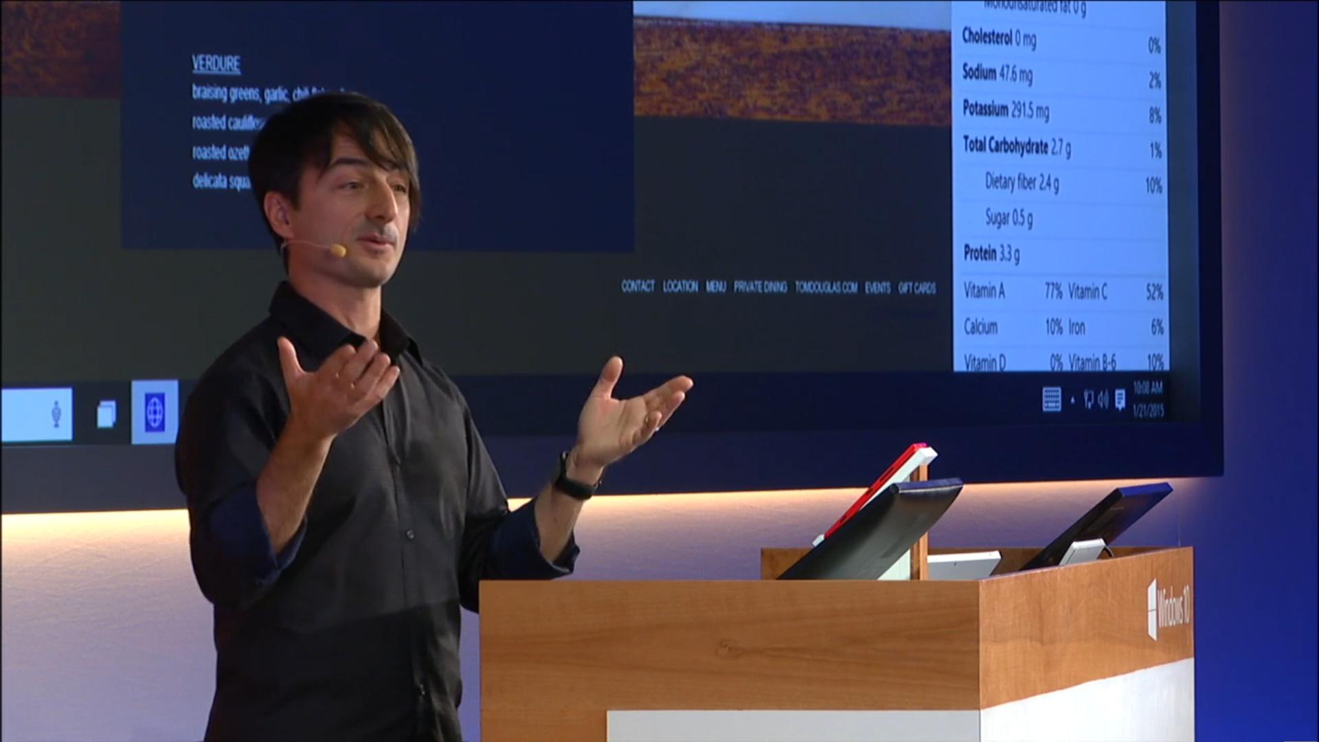 Project Spartan: Cortana