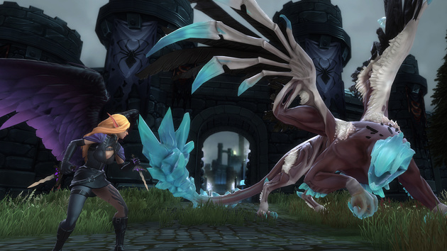 Crowfall: MMORPG-Strategie-Mix Crowfall sammelt 1,8 Mio. Dollar